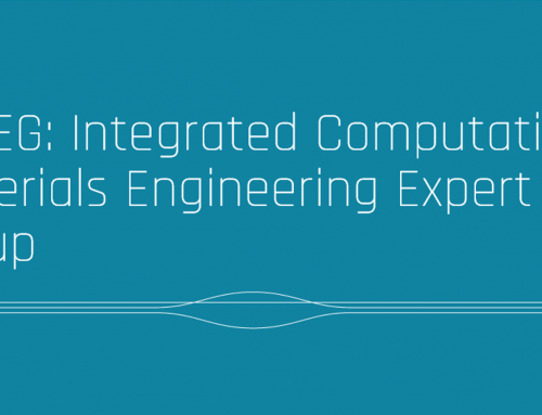 ICMEG: Integrated Computational  Materials Engineering Expert Group