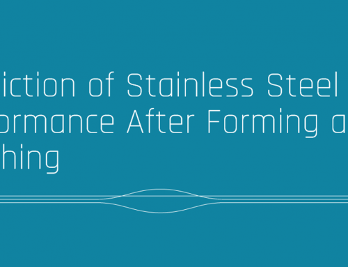 Prediction of Stainless Steel Performance After Forming and Finishing